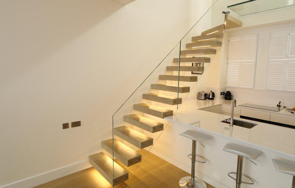 Prijs Zwevende Trap : Zwevende trappen. full size of trap van hout kleine zwevende trap