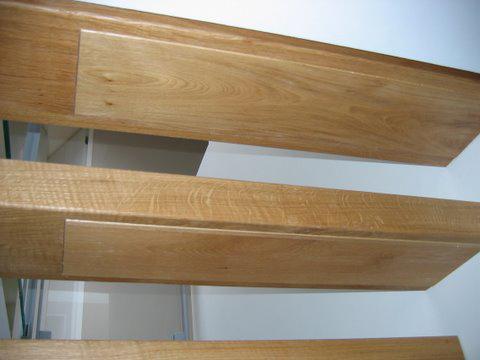 Zwevende Trap Kosten : Zwevende trap met houten treden trappenkopen