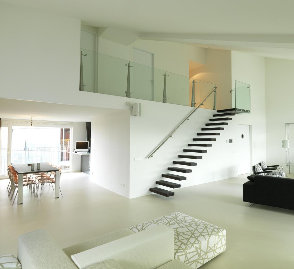 Ikea woonkamer design - Woonkamer met trap ...