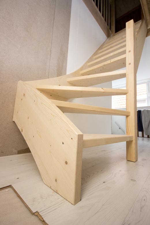 houten vaste zoldertrap vt02